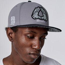 Backstreet Bsb Logo Adjustable Caps Flat Bill Hip-Hop Caps