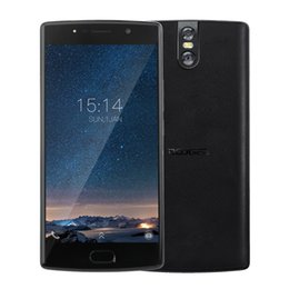 Wholesale Smart Phones Batteries - Doogee BL7000 5.5 inch With Touch ID Android 7.0 Cell phone 4GB RAM 64GB ROM 4G LTE 7060mAh Battery Smart Phone