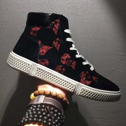 Distribuidores de descuento Korean Hip Hop Zapatos Para Hombre ... 02f45ce13b7