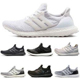2019 zapatos de hipebeast 2018 nuevo 3.0 Triple Black Running Shoes hypebeast primeknit blanco negro CNY zapatillas deportivas Sport Running Shoes zapatos de hipebeast baratos