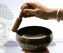 Fuentes del templo budista para el hogar adornos de feng shui Nepal Buda tibetano Sonido Oración tazón de terapia Tazón de yoga Tazón de limosna de cobre desde fabricantes