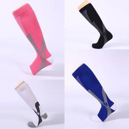 Wholesale Promotion Table - 4 Colors Men Women Compression Socks for Running Socks Sport Socks Running Magic compression socking Promotion Free DHL G460Q