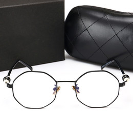 5cb94b5dc7 Clear Fashion Round Transparent Glasses Frame Women Semi Rimless Nerd Female  Grade Points Decoration Eyeglass with Optical Lens