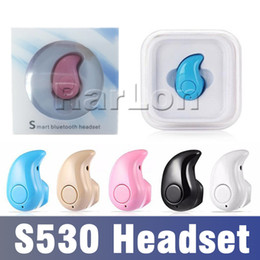 8776e80c046 bluetooth headphones for small ears Promo Codes - S530 Mini Wireless  Stealth Bluetooth Earphone Stereo Headphone