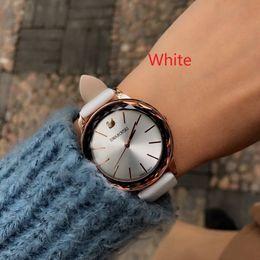 Wholesale swarovski new - 2002 Famous Top Luxury Brand Watches Makeup Watch Master Steel Band Gold Pandora Women Swarovski Wristwatches Rado Invicta 2#