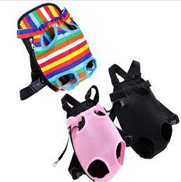 2019 sacs à provisions pour chiens en gros Portable chien sac à bandoulière chiens d'extérieur puupy sac à dos portent des sacs fournisseur d'animal familier