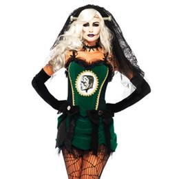 Disfraces de Halloween Fantasma sexy disfraz Día de los muertos Diablo vampiro demonio horror cadáver Cosplay Vestido club nocturno DS Ropa desde fabricantes