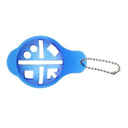 oscillazioni blu Sconti Pallina da golf Lineare Indicatore di direzione Swing Drawing Alignment Tool Blu