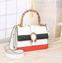 sacos de luxo Desconto Mulheres bag2017 bolsas de couro das senhoras de luxo mulheres marcas famosas sacos de designer de ombro crossbody alça de Bambu estilingue sac a principal