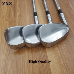 Wholesale Wedge Set 54 58 - Golf Clubs SM6 SM5 Men Golf Wedges Irons Silver color wedge 50 52 54 56 58 60 driver fairways wood SM4 SM7 SM8 7 0311