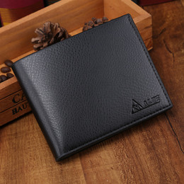 Wholesale New Style For Photo Man - Hot Sale New style leather hasp design men's wallets with coin pocket fashion brand quality purse wallet for men