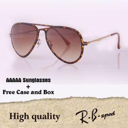 Wholesale popular eyewear quality - Luxury brand Popular Sunglasses women men Highest quality Fashion sun glasses Coating Reflective Lens Eyewear with original box