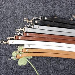 Peças de malas de mão on-line-Bolsas De Couro Cintos de Ombro Correia de Substituição Alça de Bolsa Cinta Acessórios Bolsas Ajustáveis Belt 120 CM