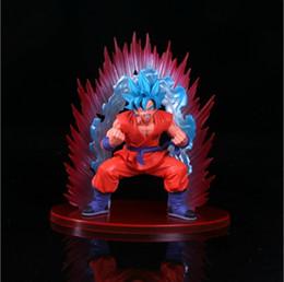 Grande figura de ação goku on-line-20 cm Tamanho Grande Dos Desenhos Animados Dragon Ball Z Super Son Saiyan Goku PVC Action Figure Toy Modelo Boneca Dragon Ball figura