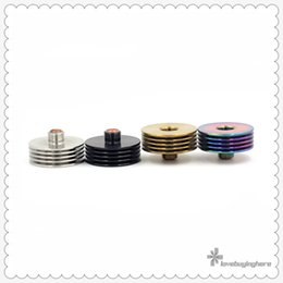 heatsink atomizer Coupons - Heat Sink 1st 22mm Connector 510 Thread Heatsink Adapter SS Vape Accessory Insulator in Atomizer Bottom Overheating Protection Epacket Free