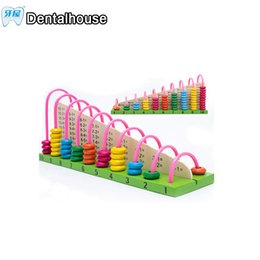 abacus gifts Promo Codes - Wooden abacus Baby Math toys Rainbow Bead Classic montessori Mathematic Wooden Toy learning Early educational toy gift