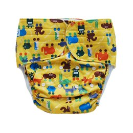Wholesale Diaper Adults - Free shipping A LOT of 6 pcs New Eco-friendly Washable Reusable Cloth Diapers for Disabled Adults Cloth Nappies