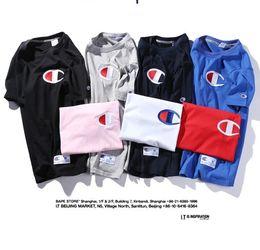 Wholesale New Short Skateboard - Hot Sale Summer New Style Fashion Short Sleeve T-Shirts Skateboards Tees Shirt Tops Geometric Hip Hop Short Sleeve T-Shirt