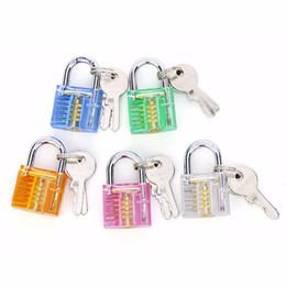 Wholesale Toy Suitcases - Nosii Mini Padlock Luggage Suitcase Safety Lock Kids Intelligence Toy with 2 keys Furniture Tool