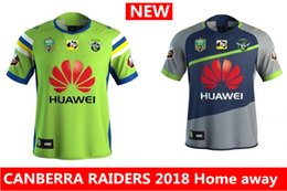Wholesale Raiders Jerseys - Hot sales new CANBERRA RAIDER S 2018 2019 Home away rugby Jerseys NRL National Rugby League rugby shirt nrl jersey canberra raider s shirts