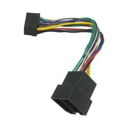 Cableado del conector iso online-Adaptador de arnés de cable de la radio estérea del coche de CHENYI para el conector de Sony 16-pin en la radio al conector de la ISO 10487 en el coche