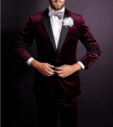 Wholesale Winter Mens Fashion Dress Coats - 2017 New Arrived Fashion Men Suits Brand Clothing High Quality Luxury Wedding Dress Formal Prom Suits Mens (Vest+Coat+Pants)