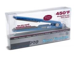 Nano Titanium PRO 450F 1 1/4 Assiettes Babe liss Plaque Lisseur Cheveux Plat Fer Plaqué 1.25 avec emballage de vente au détail en Stock ? partir de fabricateur