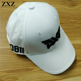 Wholesale Driver Hats - ZXZ Golf PXG Caps Hat Baseball Outdoor sports sunscreen Shade Cap Driver Fairway Irons Wedge Complete Sets head cover