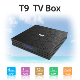 wifi hot box Promo Codes - HOT T9 TV BOX 4GB 32GB RK3328 4K Quad Core Android 8.1 TV BOX WIFI USB 3.0 Media Player