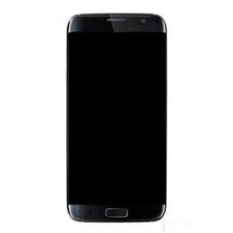 Дигитайзер экрана сотового телефона онлайн-ЖК-экран для Samsung Galaxy S7 Edge G935 G935A G935D G935F Digitizer Ассамблеи Замена сотового телефона Сенсорные панели Free Ship