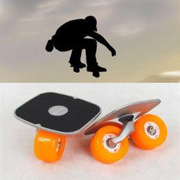 Wholesale Drift Skate Board - Drift Skate Board Mini Pastel Decks Retro Cruiser draft skateboards Aluminum Alloy Deck Skateboard 70mm Wheels