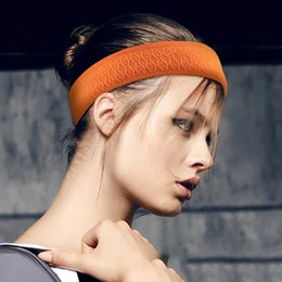 2019 vendas al por mayor del entrenamiento Outdoor Fitness Riding Sweat Bufanda Yoga Yoga Hair Sweat Confort transpirable de secado rápido Faja antideslizante
