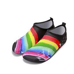 76f020702cc1 Water Sports Swimming Jogging Beach Lawn Garden Shoes Barefoot Quick-Dry  Aqua Yoga Socks Slip-on for Men Women Kids