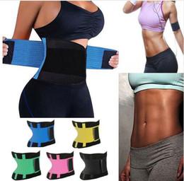 Wholesale Tummy Slimming Belts - Women Waist Trainer Belt Body Shaper Slim Belt Corset Postpartum Tummy Trimmer Body Waist Cincher Waist Trimmer KKA4445