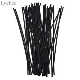 Lychee Black Rattan Reed Replacement Recambio Sticks Rattan Volatilizating Aceite esencial Home Party Decoraciones Aromatic Sticks desde fabricantes