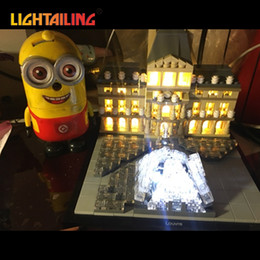 Wholesale Led Building Blocks - LIGHTAILING Led Light Up Kit For Architecture Louvre Building Block Model Light Set Compatible With 21024 For Kids Gift