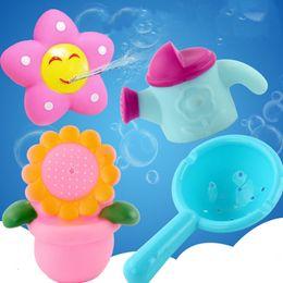 2019 brinquedos de peixes flutuantes 4-5 pcs Adorável Animais Mistos Brinquedos Da Água Colorido Borracha Macia Flutuador De Pulverização de Água Brinquedo Do Banheiro Ferramentas de Banho Brinquedo Dos Peixes desconto brinquedos de peixes flutuantes