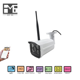 Wholesale indoor outdoor surveillance system - BFM HD wireless WIFI audio home surveillance IP camera outdoor   indoor P2P ONVIF monitoring system support mobile browsing