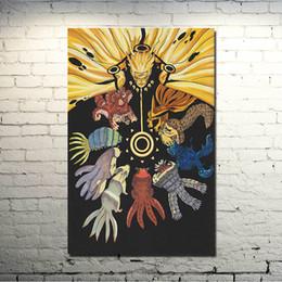 2019 наруто-арт Naruto The MOVIE Art Шелковый плакат 13x20 24x36 дюймов аниме картинки Узумаки Наруто Саске Какаши (нажмите, чтобы увидеть больше) дешево наруто-арт