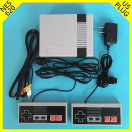 (Dos teclas) (EE. UU.) Mini TV Consola de videojuegos de mano para NES MODELO PARA NES 620 consolas de juegos AV con cajas de venta al por menor venta caliente gratis desde fabricantes