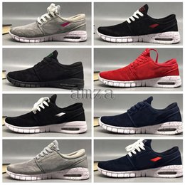 Barato venta SB Stefan Janoski zapatos zapatillas para mujeres para hombre Alta  calidad auténticos Maxes zapatillas zapatillas Deportivos Size36-45 db4dccb782f