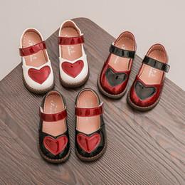 casual desenhos animados sapatos miúdos Desconto New Hot Girls Moda Sneakers crianças calçados casuais dos desenhos animados Branco Preto Vermelho Princesa Doce bonito sapatos das crianças das crianças Individual