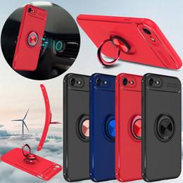 Lüks Manyetik Yüzük Tutucu Standı İnce Telefon Kılıfı iphone 6 6 7 Artı X S8 S9 nereden iphone ince stand durumda tedarikçiler