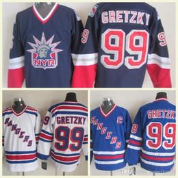 Men s Hockey 99 Wayne Gretzky Stitched All-Star Blue White Black Yellow Orange  Jersey Mix Order Vintage Jerseys 50643e93d