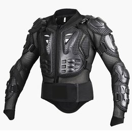 Wholesale Road Motorcycle Armor - Professional Motocross Off-Road Protector Motorcycle Full Body Armor Jacket Protective Gear Clothing S M L XL XXL XXXL