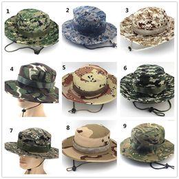 cappello da sniper Sconti Tactical Bucket Beanie Hats Airsoft Sniper  Camouflage Cap nepalese Esercito militare Accessori d0327da94d4e