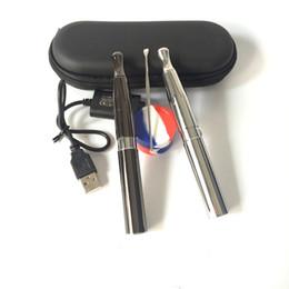 Caneta de fumar do ego on-line-Vape Pen Wax Vaporizador Puffco Frigideira 2 Cera Fumando Ego Starter Kit Com 650 mAh Bateria