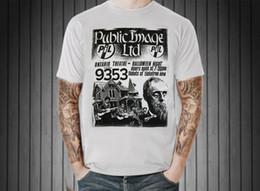 Wholesale post music - Public Image Ltd PiL VTG Retro Graphic T-Shirt UK Post Punk Rock Music Band XL