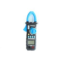 Medidor de grampo rms on-line-Freeshipping Bside Faixa Auto 600A True RMS AC / DC Mini Digital Clamp Meter Multímetro Freqüência de Capacitância Inrush Teste Atual