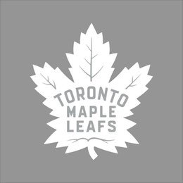 Per Toronto Maple Leafs Logo della squadra NHL Colore Decalcomania del vinile Motocicletta SUV Adesivo per paraurti Vetrofania per auto da
